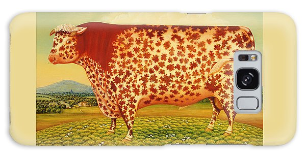 Mottled Galaxy Case - The Great Bull by Frances Broomfield
