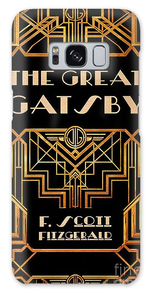 Front Galaxy Case - The Great Gatsby Book Cover Movie Poster Art 3 by Nishanth Gopinathan