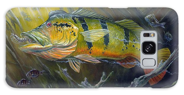 The Great Peacock Bass Galaxy Case