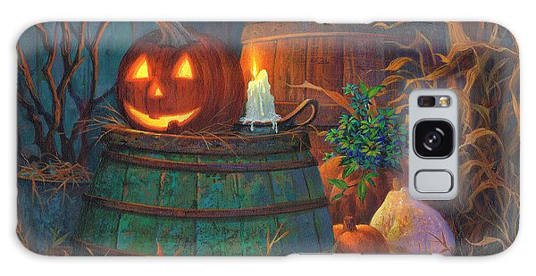 The Great Pumpkin Galaxy Case by Michael Humphries
