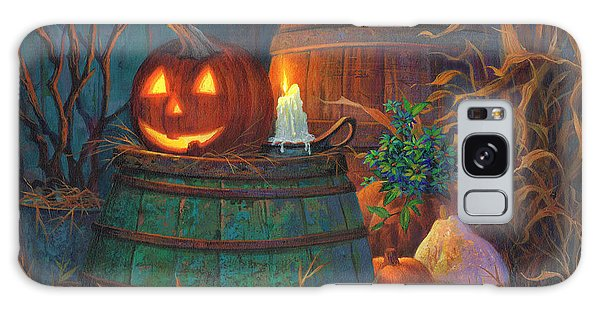 Pumpkin Galaxy S8 Case - The Great Pumpkin by Michael Humphries