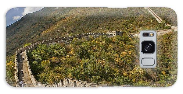 The Great Wall Of China At Mutianyu 2 Galaxy Case