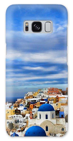 Framing Galaxy Case - The Greek Isles-oia by Tom Prendergast