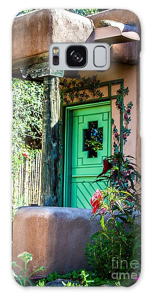 The Green Door Galaxy Case