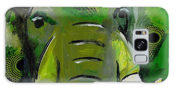 The Green Elephant In The Room Galaxy Case