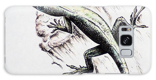 The Green Lizard Galaxy Case