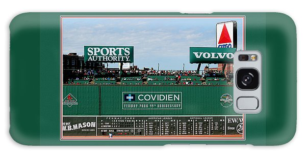 The Green Monster Fenway Park Galaxy Case by Tom Prendergast