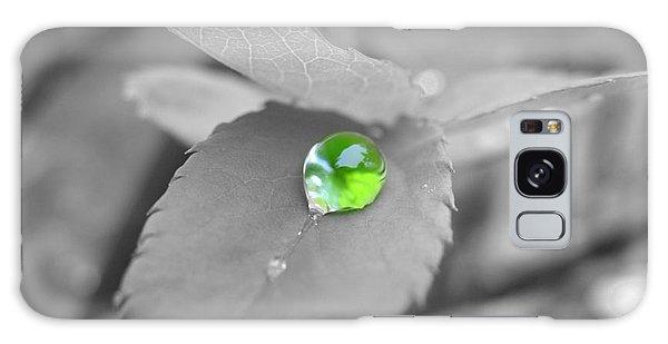 The Green Pearl Galaxy Case by Patti Whitten