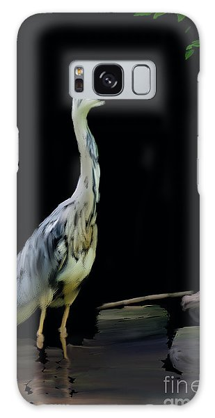 The Grey Heron Galaxy Case