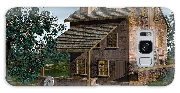 The Gristmill - Batsto N J Galaxy Case by John Pangia