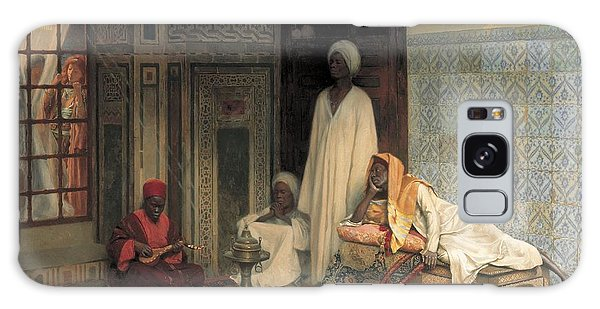 Turban Galaxy Case - The Guards Of The Harem  by Ludwig Deutsch