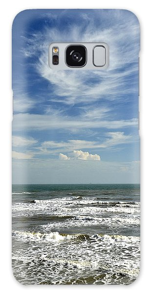 The Gulf Of Mexico From Galveston Galaxy Case by Allen Sheffield