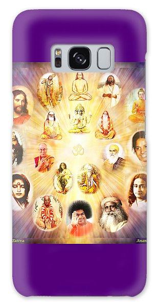 The Guru Tattva Galaxy Case by Ananda Vdovic