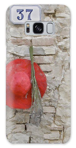 The Hanging Red Hat Galaxy Case