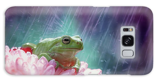 Pink Flower Galaxy Case - The Happy Rain by Ahmad Baihaki