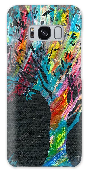 The Happy Tree Galaxy Case by Denise Hoag