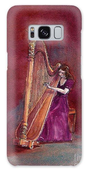 The Harpist Galaxy Case
