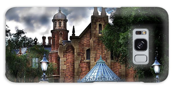 The Haunted Mansion Galaxy Case by Mark Andrew Thomas