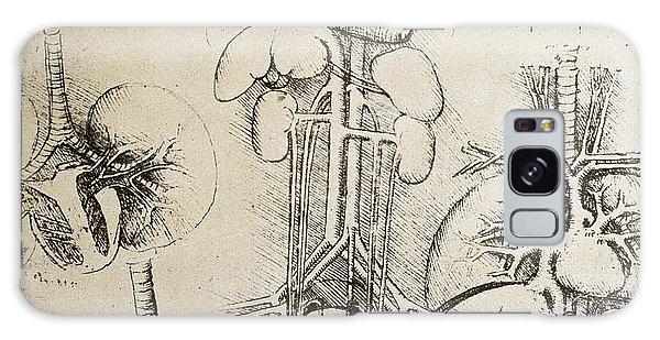 Anatomical Heart Galaxy Cases Fine Art America
