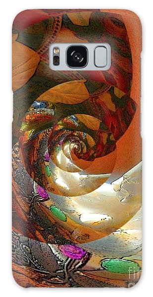 The Heart Of Christ Galaxy Case by Karen Newell