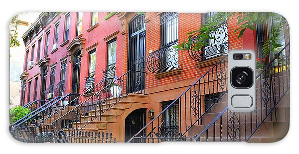 The Historic Brownstones Of Brooklyn Galaxy Case