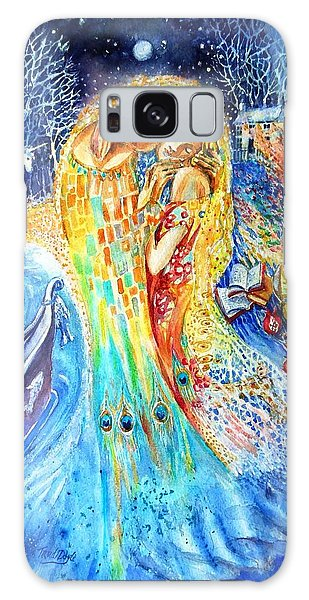 The Homecoming Kiss After Gustav Klimt Galaxy Case