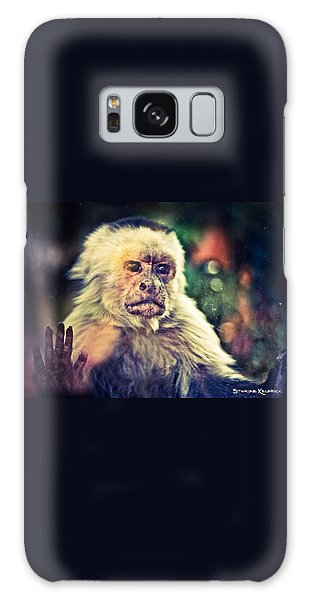 Galaxy Case featuring the photograph The Hopeless Ape by Stwayne Keubrick