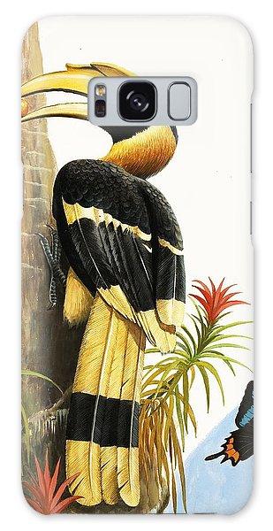 Toucan Galaxy S8 Case - The Hornbill by RB Davis