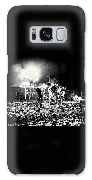 Galaxy Case featuring the photograph The Horse That Suffered  by Stwayne Keubrick