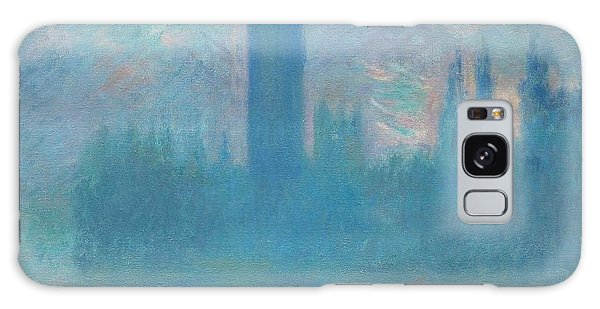 Art Institute Galaxy Case - The Houses Of Parliament by Claude Monet