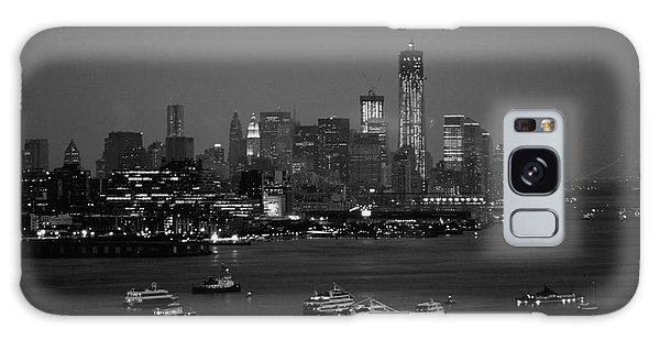 The Hudson And Freedom Tower Galaxy Case by Living Color Photography Lorraine Lynch