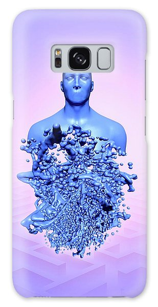 Scientific Illustration Galaxy Case - The Human Body by Victor Habbick Visions
