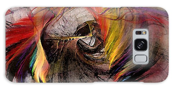 The Huntress-abstract Art Galaxy Case