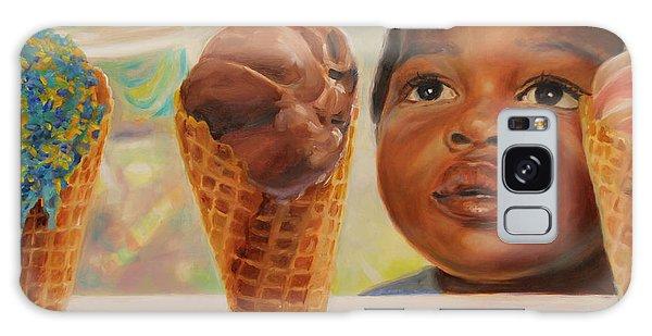 The Ice Cream Shop Galaxy Case