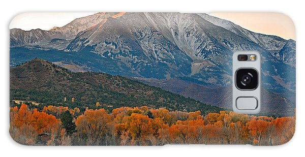 The Impressive Mount Sopris   Galaxy Case
