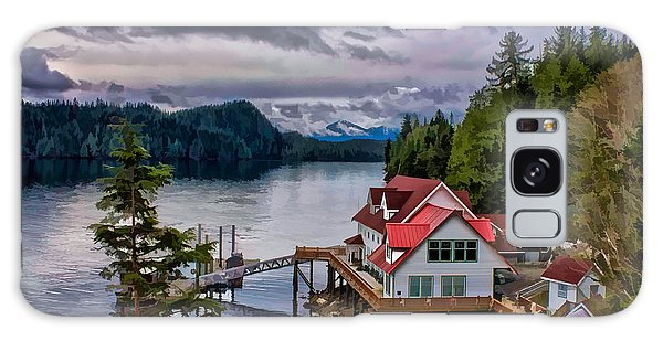 The Inlet Painitng Galaxy Case