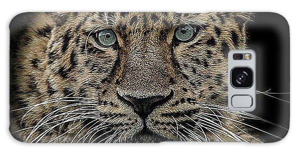 Leopard Galaxy S8 Case - The Interrogator  by Paul Neville