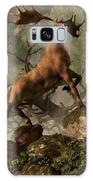 The Irish Elk Galaxy Case by Daniel Eskridge