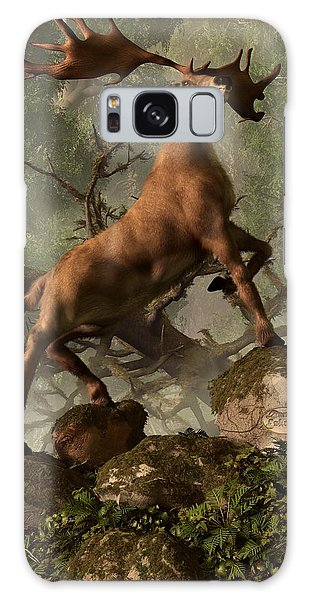 The Irish Elk Galaxy Case