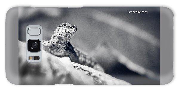 Galaxy Case featuring the photograph The Iron Lizard II by Stwayne Keubrick