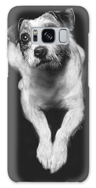 The Jack Russell Stare- Got Ball? Galaxy Case
