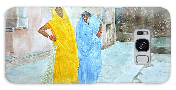 The Janitors Of Amber Fort Galaxy Case