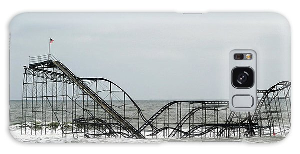 The Jetstar Rollercoaster In Seaside Heights Nj Galaxy Case by Living Color Photography Lorraine Lynch