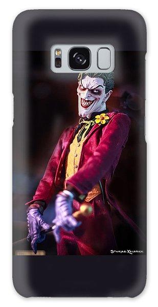 Galaxy Case featuring the photograph The Joker Dummy by Stwayne Keubrick