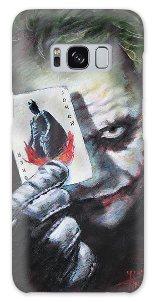 The Joker Heath Ledger  Galaxy Case