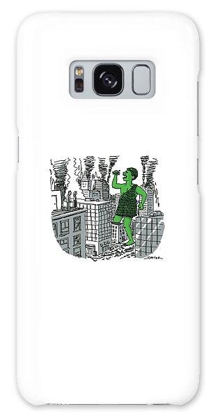 The Jolly Green Giant Walks Like Godzilla Galaxy Case