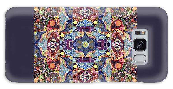 The Joy Of Design Mandala Series Puzzle 1 Arrangement 1 Galaxy Case