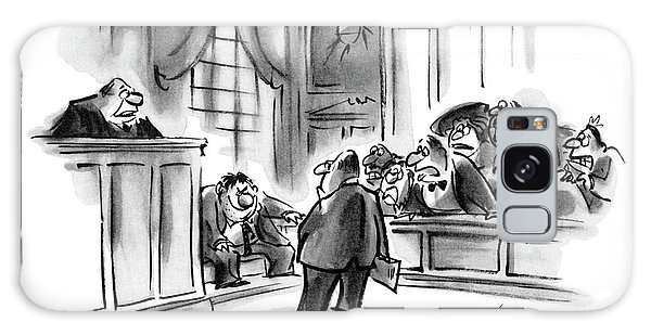The Jury Will Disregard The Witness's Last Galaxy S8 Case
