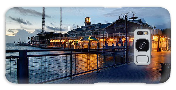 The Kemah Boardwalk Galaxy Case