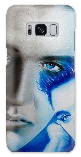 Elvis Presley - ' The King ' Galaxy Case by Christian Chapman Art